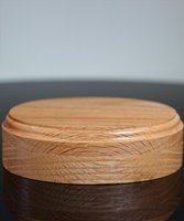 Picture of Oval Oak Mounting Base