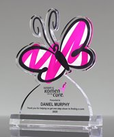 Picture of Acrylic Butterfly Award