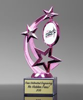 Picture of Pink Astro Star Trophy