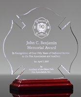 Picture of Acrylic Maltese Cross Award
