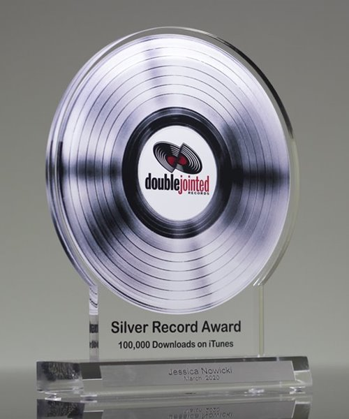 Picture of Silver Record Award