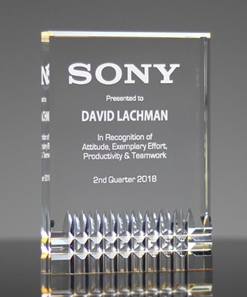 Picture of Legacy Gold Acrylic Award