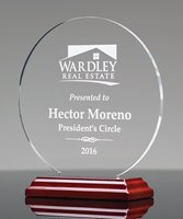 Picture of Acrylic Circle Award