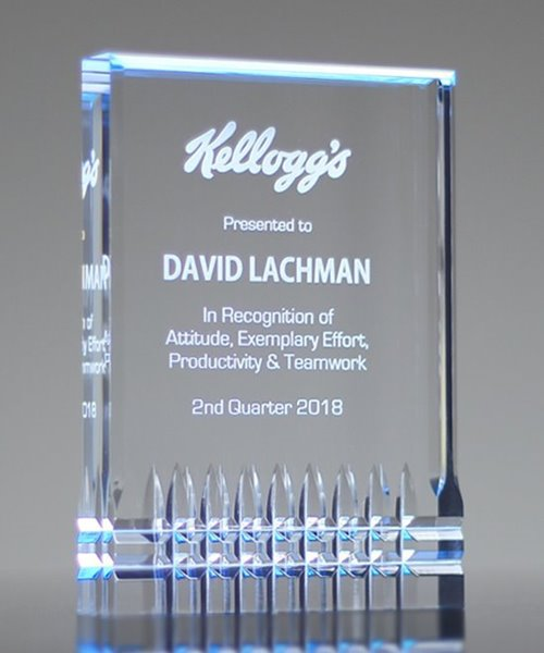 Picture of Legacy Blue Acrylic Award