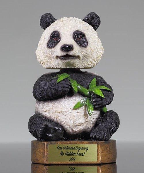Picture of Panda Bobblehead Mascot Trophy