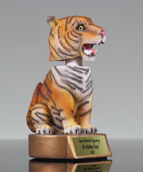 Picture of Tiger Bobblehead Mascot Trophy