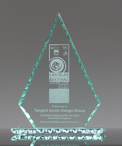 Picture of Jade Glass Conquest Award