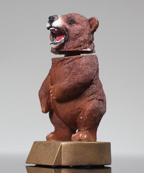 Picture of Bear Bobblehead Mascot Trophy
