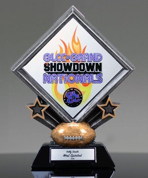 Picture of Diamond Football Custom Trophy