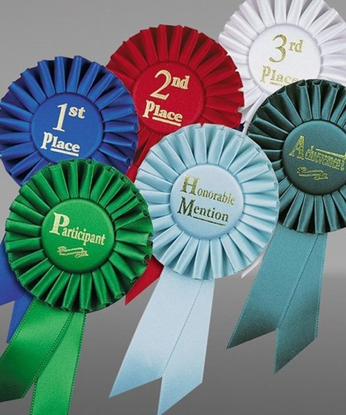 Picture of Stock Rosette Ribbons
