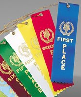 Picture of Stock Ribbon Awards with String