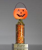 Picture of Pumpkin Head Halloween Trophy