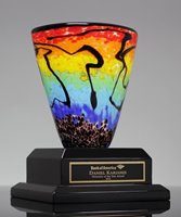 Picture of Maia Art Glass Vase