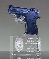 Picture of Acrylic Gun Trophy