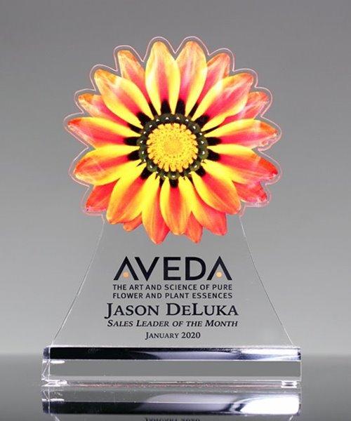 Picture of Orange Sunflower Award