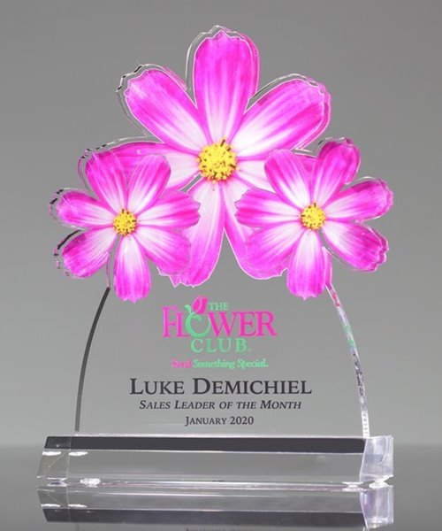 Picture of Colorful Flowers Trophy