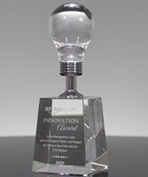 Picture of Success Light Bulb Award