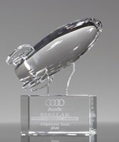 Picture of Crystal Rocket Ship Award