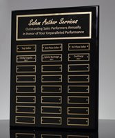 Picture of Employee Awards Plaque 24 Plates