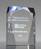 Picture of Spectra Prism Blue Acrylic Award