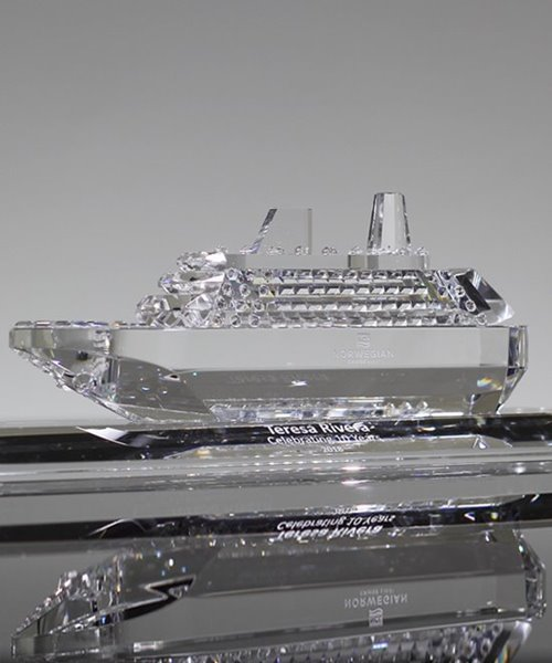 Picture of Crystal Cruise Ship Award