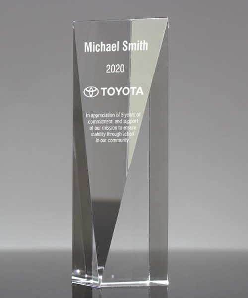 Picture of Crystal Goldwell Award