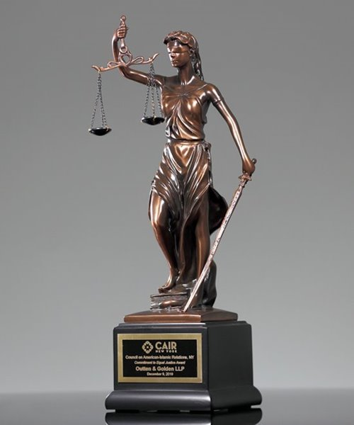 Picture of Lady of Justice Award