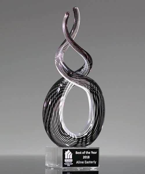 Picture of Endless Appreciation Art Glass Award