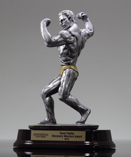 Picture of Bodybuilder Side Pose Trophy