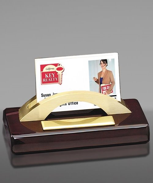 Picture of Engraved Business Card Holder