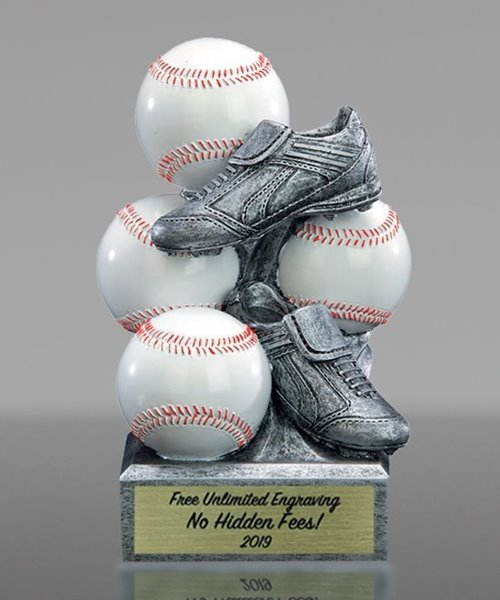 Picture of Baseball Sports Bank Resin Trophy