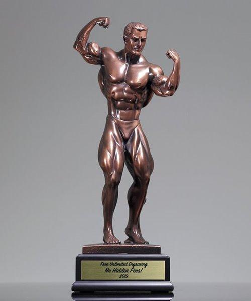 Picture of Resin Bodybuilder Trophy