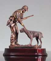 Picture of Hunting With Dog Trophy