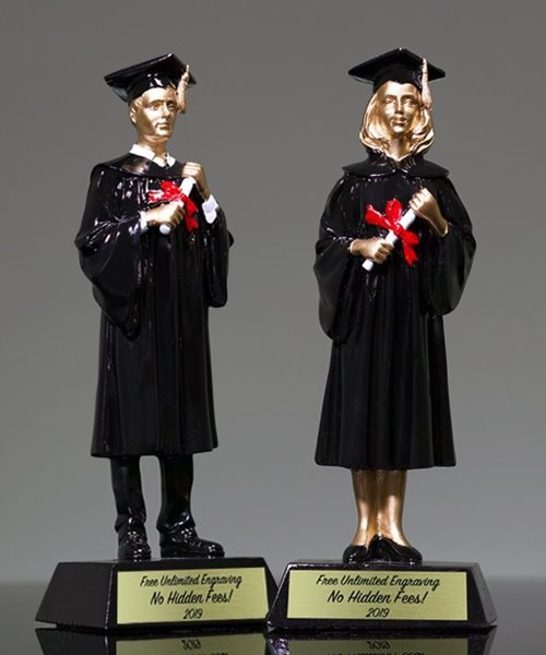 Picture of Resin Graduate Trophy