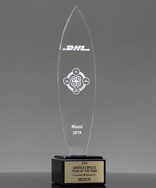 Picture of Surfboard Acrylic Award