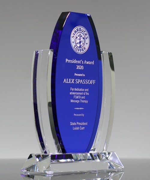 Picture of Crestmont Crystal Award