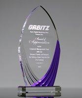 Picture of Purple Turin Acrylic Award