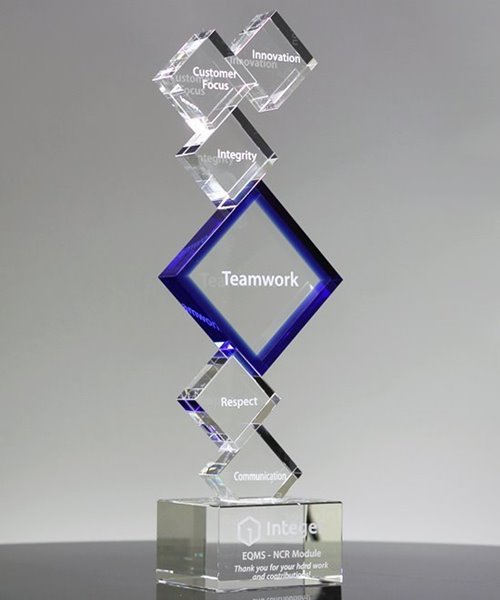 Picture of Attainment Apex Crystal Award