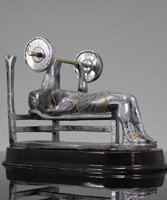 Picture of Weightlifting Bench Press Trophy
