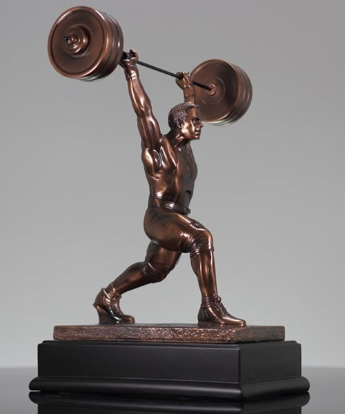 Picture of Male Weightlifter Trophy