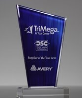 Picture of Blue Turin Acrylic Award