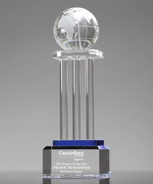Picture of Global Horizons Crystal Award