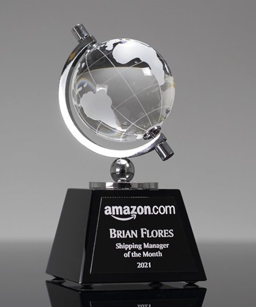 Picture of Classic World Globe Trophy