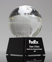 Picture of Pyramid World Globe Trophy