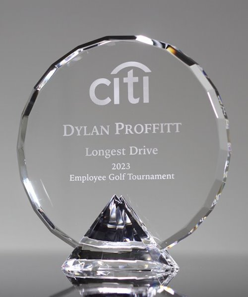 Picture of Faceted Circle Diamond Award