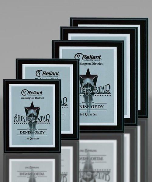 Picture of Matt Ebony-Finish Award Plaques