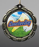 Picture of Epoxy-Domed Cheer Medals