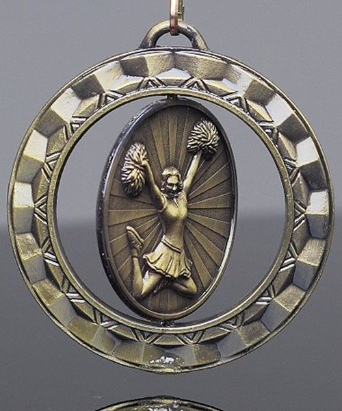 Picture of Cheerleading Spinner Medal