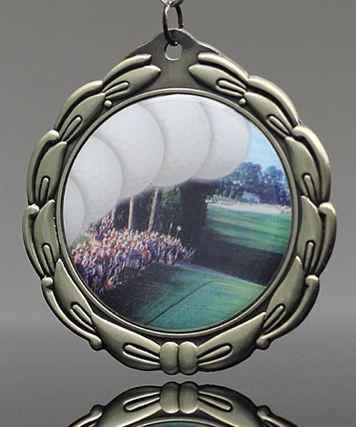 Picture of Epoxy-Domed Golf Medal