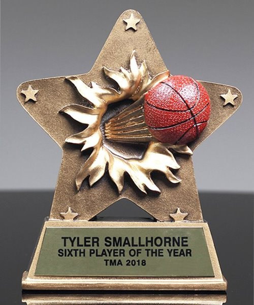 Picture of StarBurst Basketball Trophy